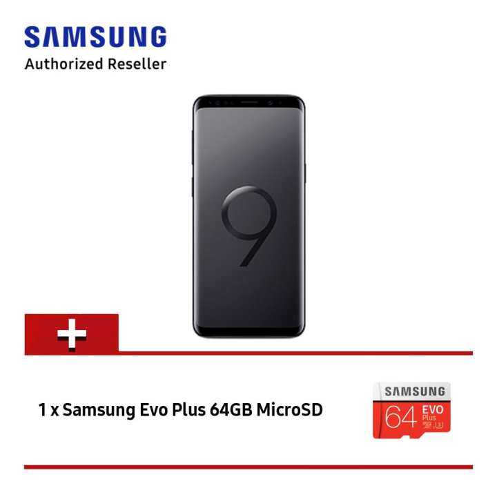 Samsung Galaxy S9 G960 64GB (Midnight Black)