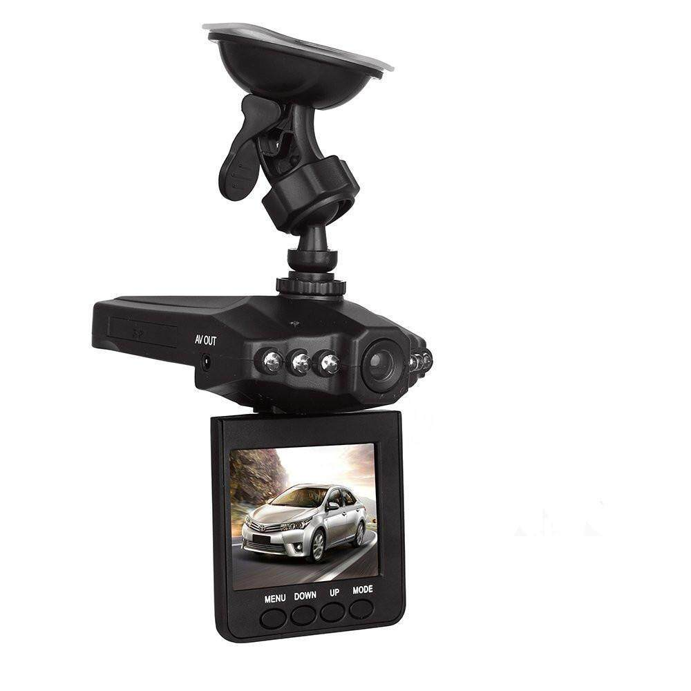 "yiokmty F198 Car Dash DVR With Night Vision, Microphone Built In, 2.5"" Rotatable And Foldable TFT LCD Screen Display"