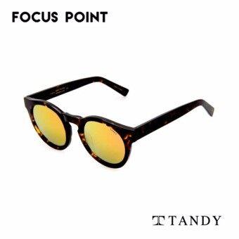 Tandy HEV1507 C5-1 Tortoise Round Unisex Sunglasses