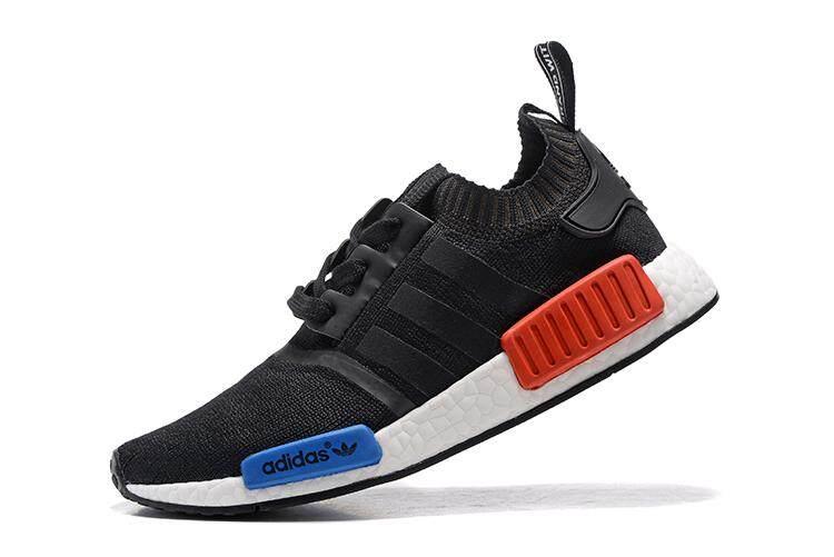 Adidas Men s NMD Runner Primeknit Breathable Running Shoes Fashion Sneaker  Casual Shoes (Black) bdba8d1cb4