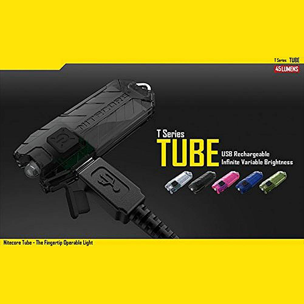 NITECORE Tube U Lamp USB Charging Glaring Light Flashlight Keychain-shaped Mini Waterproof EDC Light