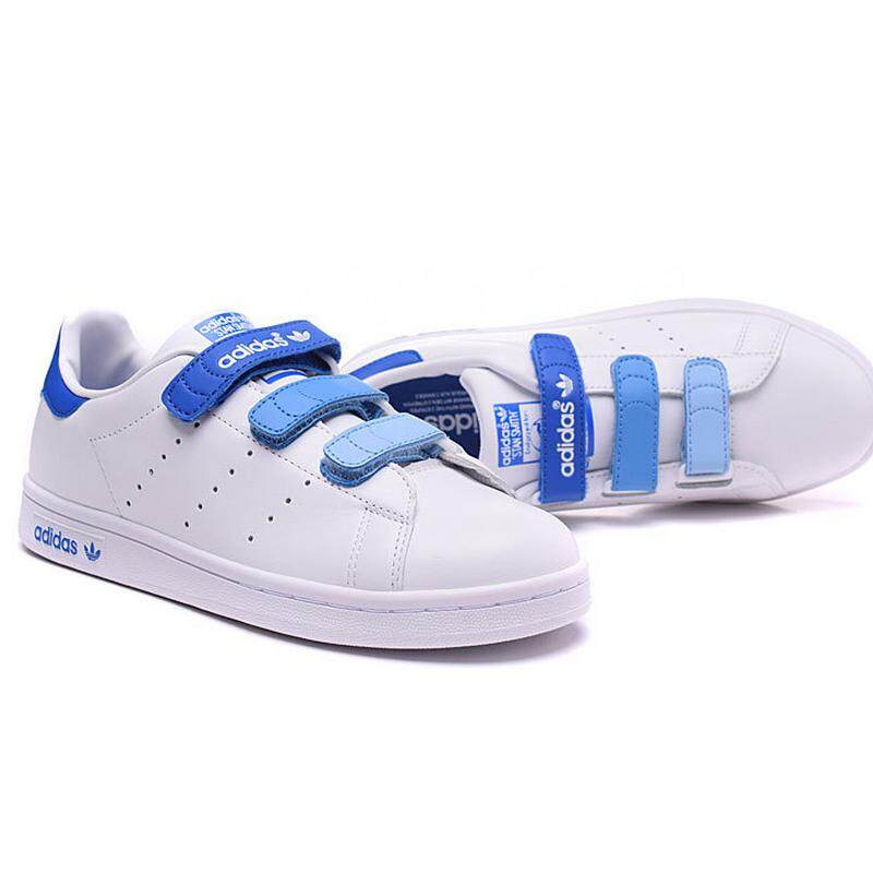 official photos 372fc 95f77 Review Adidas Mens Women Stan Smith Velcro Shoes Fashion ...