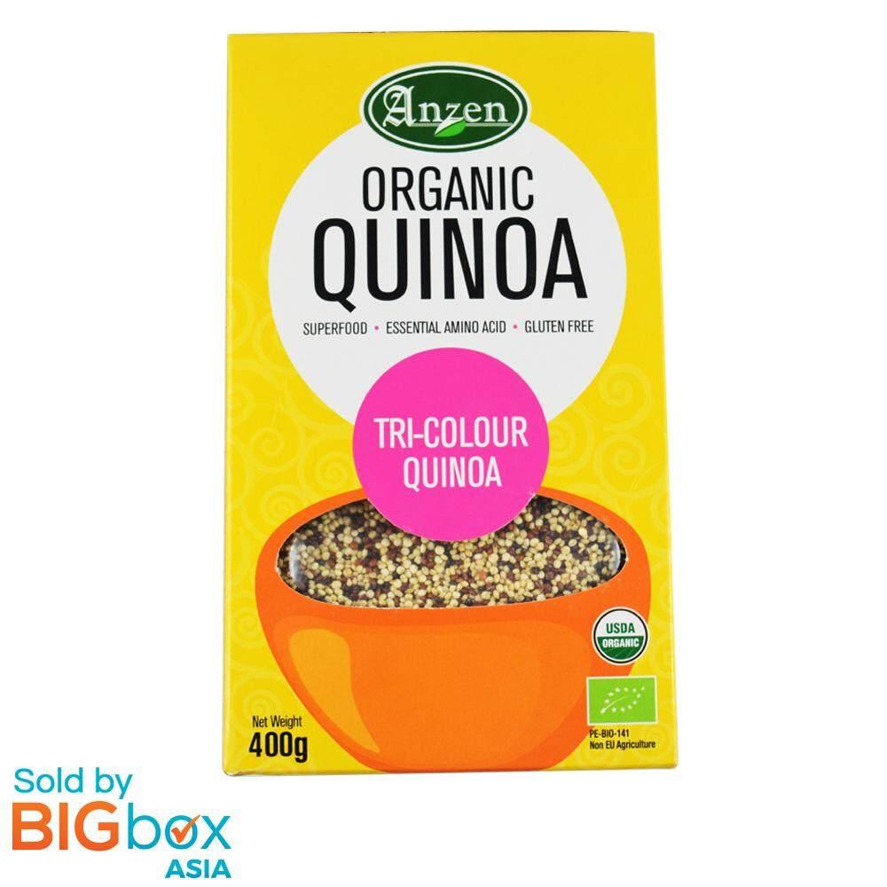 Anzen Organic Quinoa Tri-Colour 400g - Canada