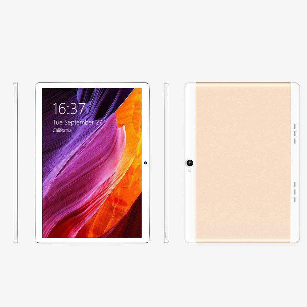 10.1 inches Smart Tablet Mobile Phone Octa Core Dual Camera 8 Million Pixels MIC Bluetooth V3.0 5000mAh 4+64G Android6.0  Durable Tablet