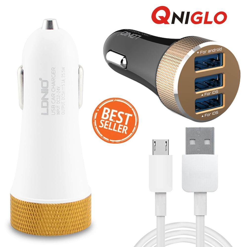 Batok Kepala Charger Qtop 4 Port Usb 51a Fast Charging 4usb Theme Source · LDNIO Fast