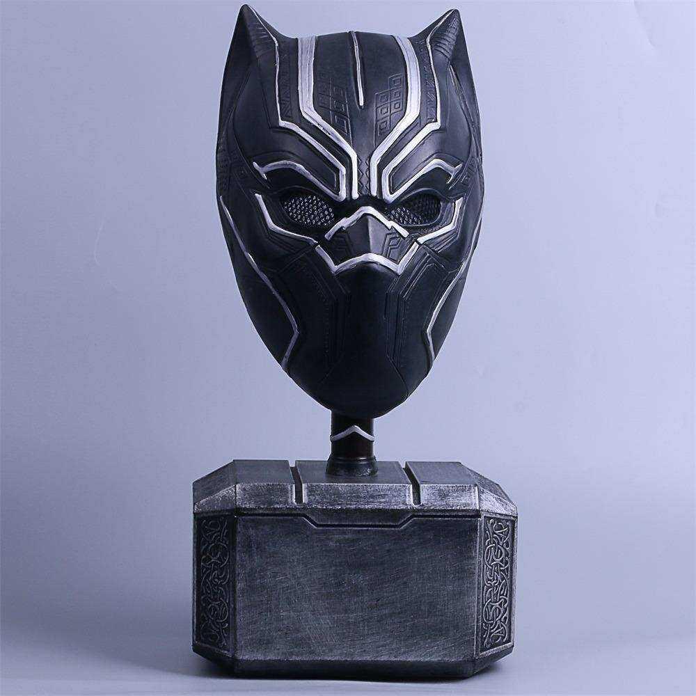 Buy Sell Cheapest Panther Hitam Helm Best Quality Product Deals Topeng Super Hero 2018 Marvel Cosplay Superhero Pesta Baru Halloween Untuk Lateks
