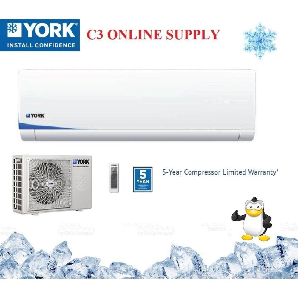 York 2.0 HP Air Cond - YWM3F20CBS-W / YSL3F20AAS (R410A) image on snachetto.com