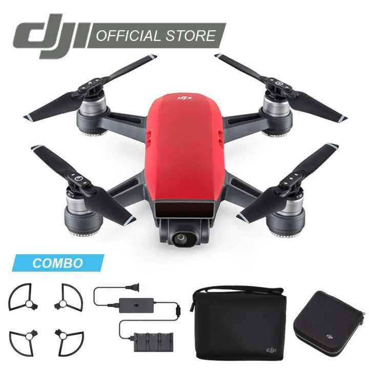 DJI Spark Flymore Combo Lava Red (6 Months Extended Warranty Only At Official Online Store worth RM300) - Free Training With Limited Seat