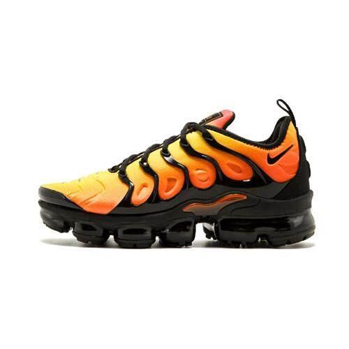 size 40 20049 40d81 Nike Original Air VaporMax TN Low Top MEN Global Sales Running Shoe (  Orange Black )