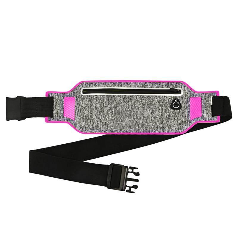Good Ultrathin Waist Bag Running Belt Waterproof Mobile Phone Holder Pouch Belt Belly Bag Phone Waist Bag Outdoor Waist Bag Mobile Phone Accessories Armbands