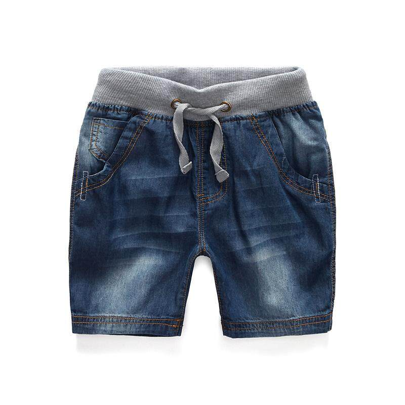 2017 Boys Summer Denim Shorts Brand Fashion Jeans Children's Beach Shorts Casual Boys Boardshorts