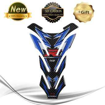 5D Universal Carbon Fiber Protection Emblem Gas Fuel Tank Cap Pad Sticker for Kawasaki KTM-