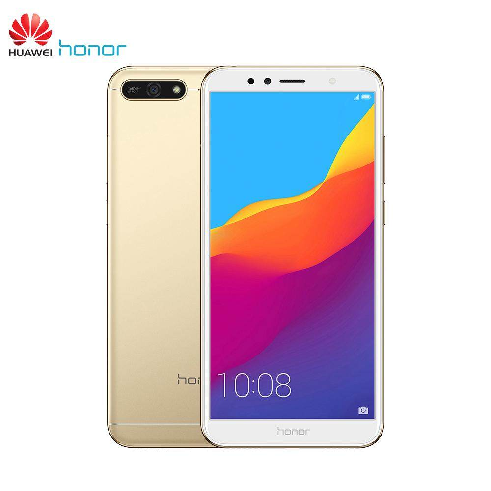 Global Firmware Huawei Honor 7A Mobile Phone 2+32GB 5.7 inch Full View Screen Snapdragon 430 Octa Core Android 8.0 Face ID 13MP+8MP 4G-LTE Smartphone