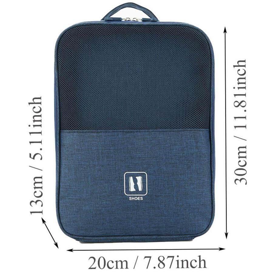 6d71e49cfa10 Shoe Storage Bag,Zipper Waterproof Portable Travel Shoe Bag,High quality  Shoes Storage Bag Travel Vacation Slippers Mesh Organizer Waterproof Pouch  ...
