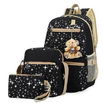Zenababy Women Backpack Girl School Satchel Shoulder Bag Rucksack Canvas Travel Bags USA