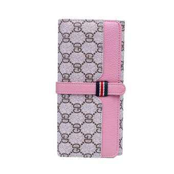 Europe and America Lady's Fashion Wallet, Long Style And Large Space with invisible button Wallet, High End Brand Wallet-