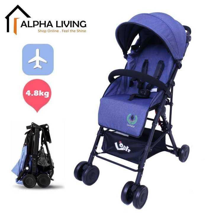 Louis Le Petit Stroller Bayi Ringan, Mudah Lipat Kecil ...