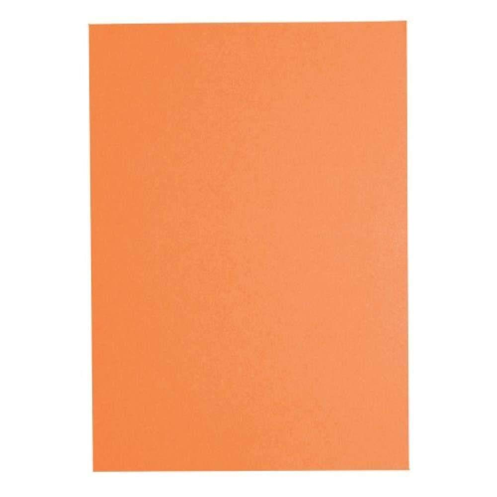 Fluorescent Colour A4 80gsm Paper CS371 - Cyber Orange (Item No: C01-04 CY.OR) A5R1B6