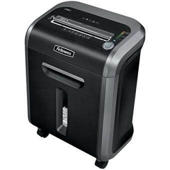 Fellowes Powershred 79Ci 100% Jam Proof Medium, Duty Cross, Cut Shredder, 16 Sheet Capacity, Black/Dark Silver (3227901)