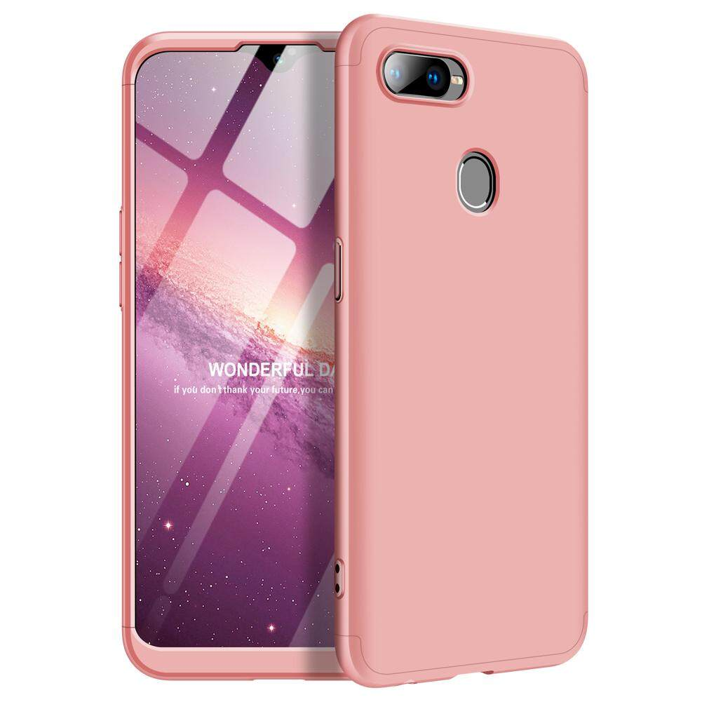 new concept 56359 79439 Oppo F9 F9Pro Case, 3 In 1 Ultra Thin Anti-Scratch 360 Degree Full  Protection Hard PC Cover Shockproof Case for Oppo F9 Pro / F9