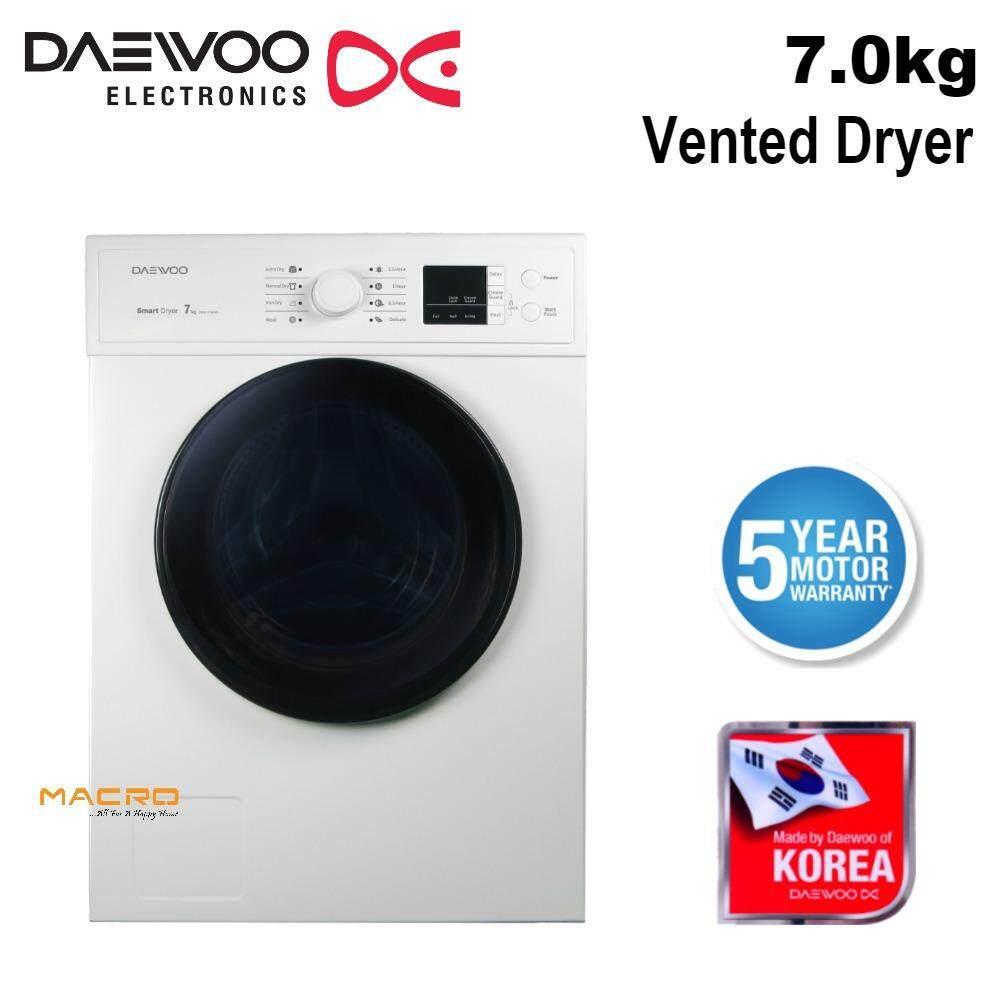 Daewoo DWR-V700W 7kg Vented Tumble Dryer