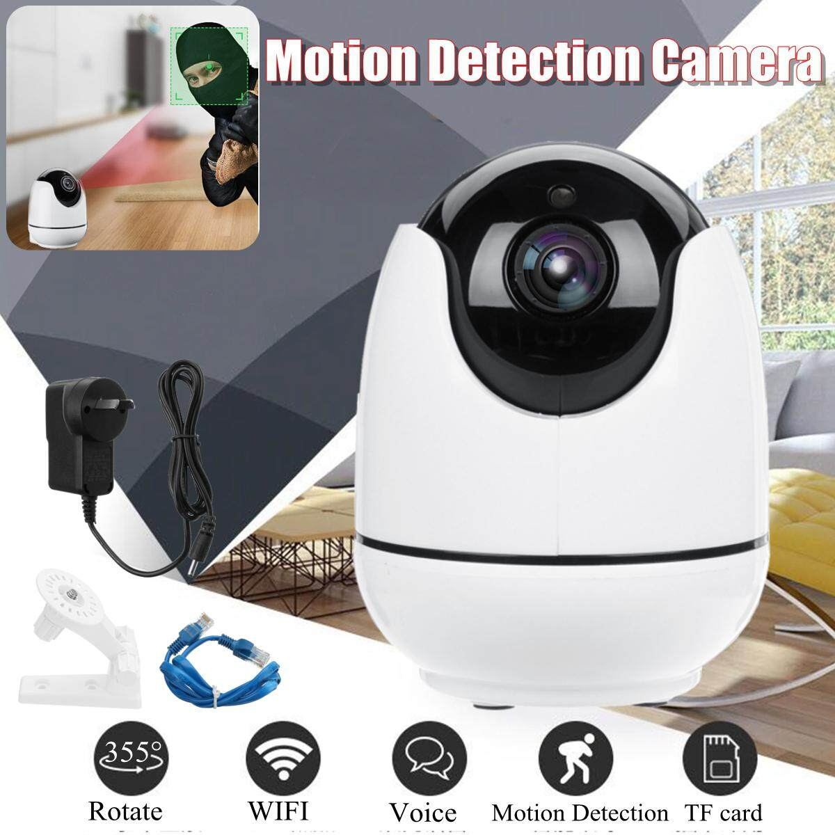 1080P 2.0MP Wifi Home Camera IP HD Security System Wireless Night Vision Indoor UK Plug - intl