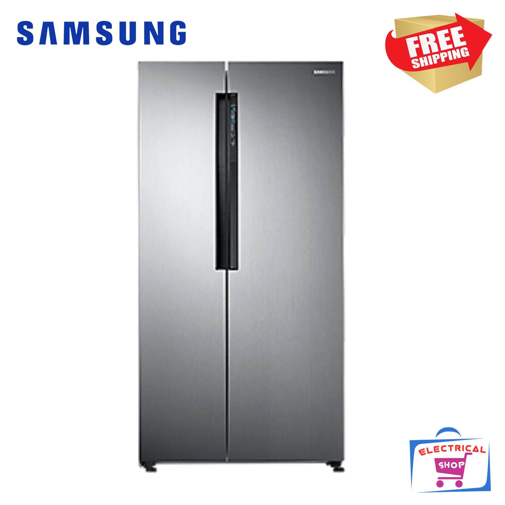 Samsung Fridge RS62K60A7SL Side by Side Inverter Fridge 680L RS62K60A7 with Twin Cooling Plus™ Refrigerator
