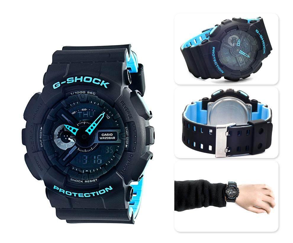 การใช้งาน  เลย 【 STOCK】Original _ Casio_G-Shock นาฬิกาข้อมือผู้ชายผู้หญิงนาฬิกากีฬาอิเล็กทรอนิกส์ Autolight กีฬานาฬิกาเรซิน