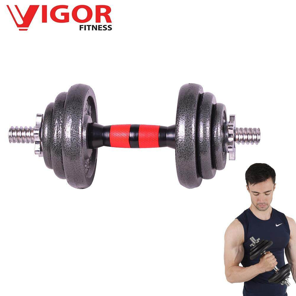 10KG Cast Iron Adjustable Dumbbell image on snachetto.com
