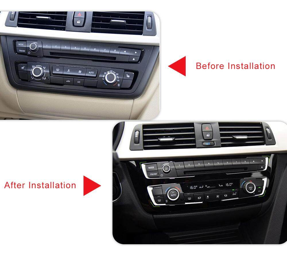 Center Console Dashboard Frame Cover Trim For Bmw 4 3 Series Gt F30