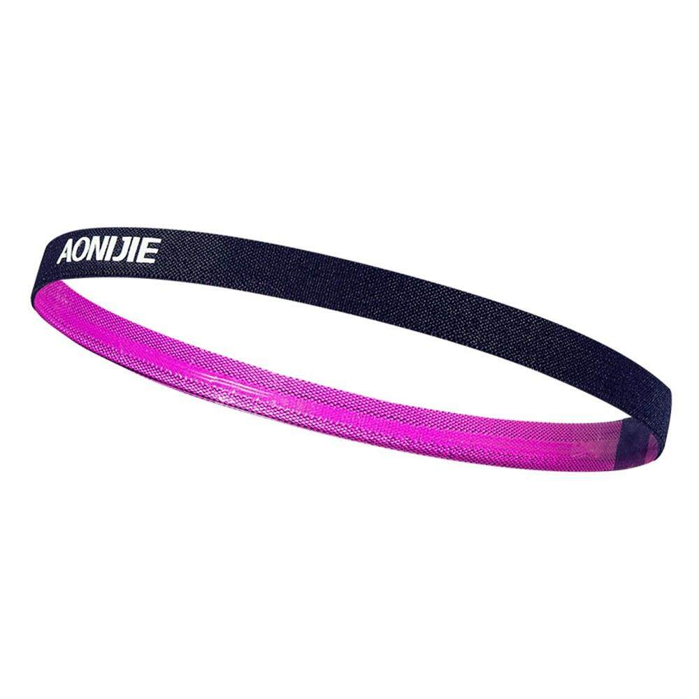 Fdikou 1pcs Thin Sports Elastic Headband Softball Hair Band Rubber Anti-Slip Women Hair Accessories Bandage Scrunchy Buy 2 Get Free Shipping ผ้าคาดศีรษะ Color Family : แดง Size Int :  One size
