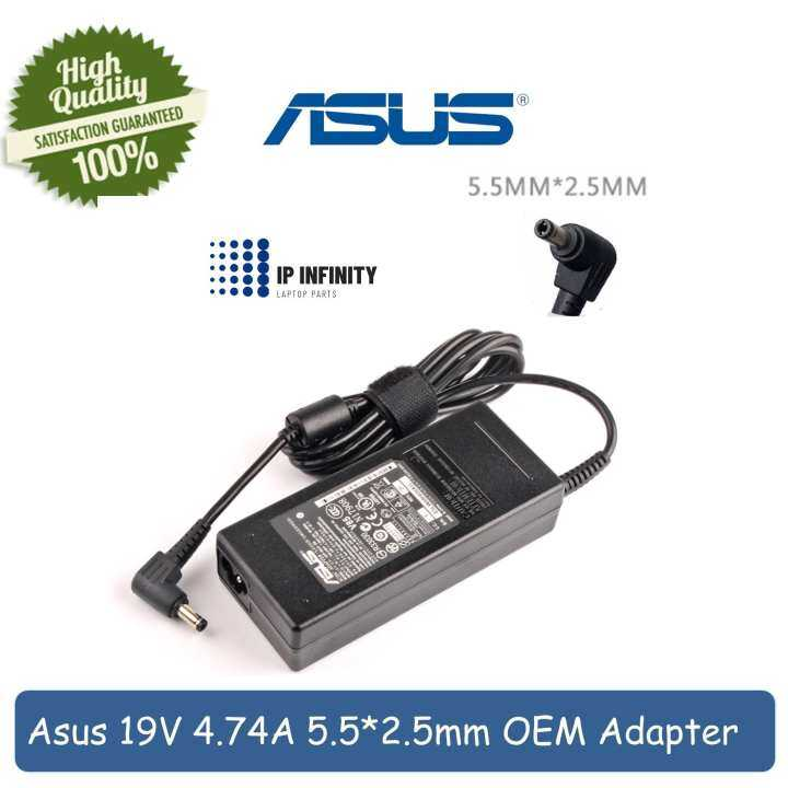 ASUS 19V 4.74A 5.5*2.5mm AC Power Supply Notebook Adapter Charger For ASUS Laptop A46C X43B A8J K52 U1 U3 S5 W3 W7