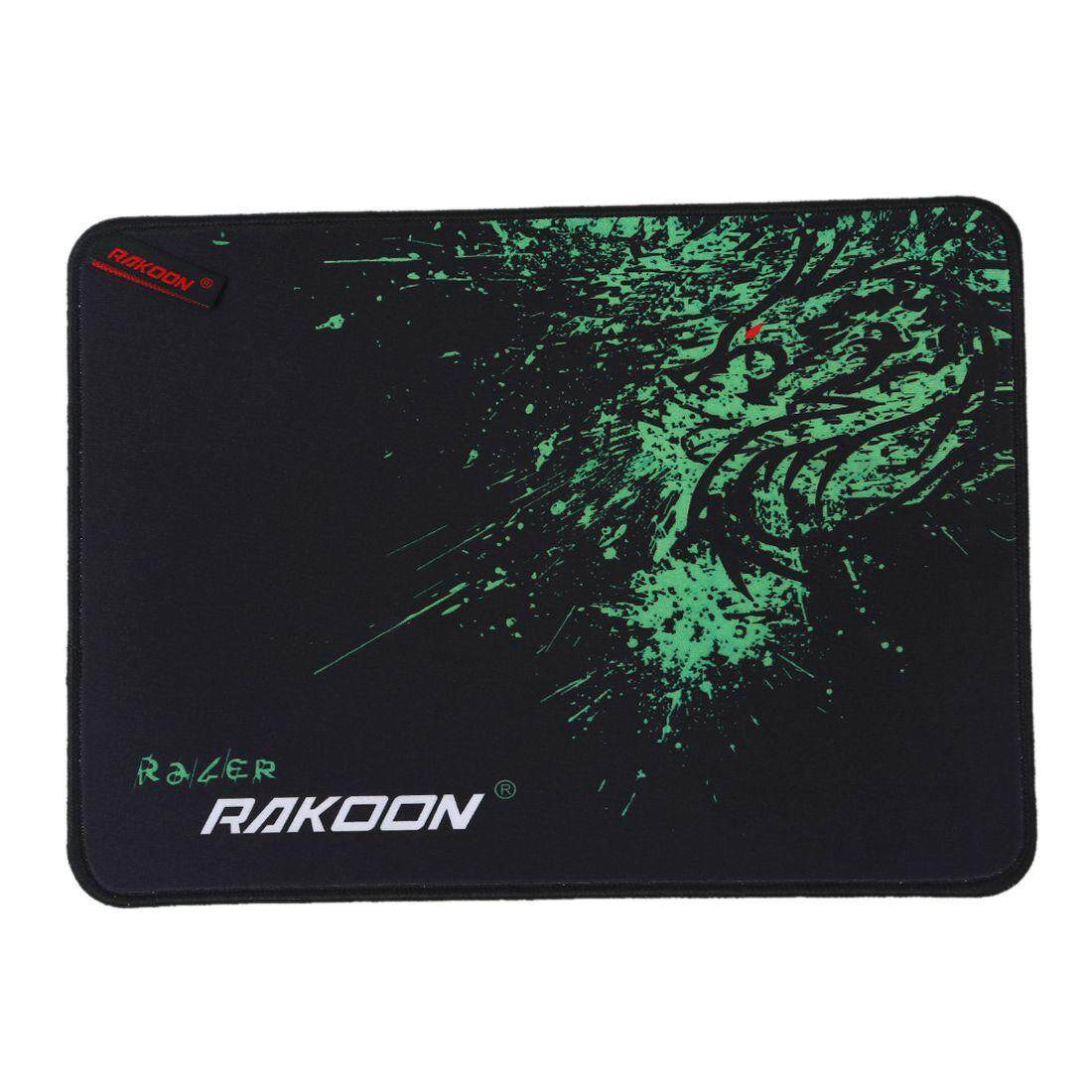 RAKOON Locking Edge Large Mouse Mat For CS Go World Of Tanks Starcraft Mousepad green(Speed 24*32CM)