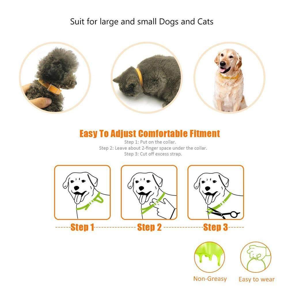 Image 5 for WithRitty ปรับ PET Flea COLLAR, 3 เดือนประสิทธิภาพป้องกันสุนัข/แมวกันน้ำกำจัดเห็บหมัด COLLAR ธรรมชาติเห็บสมุนไพรและ Tick Control ปลอกคอสำหรับสุนัข, ลูกสุนัข, แมว, แมว