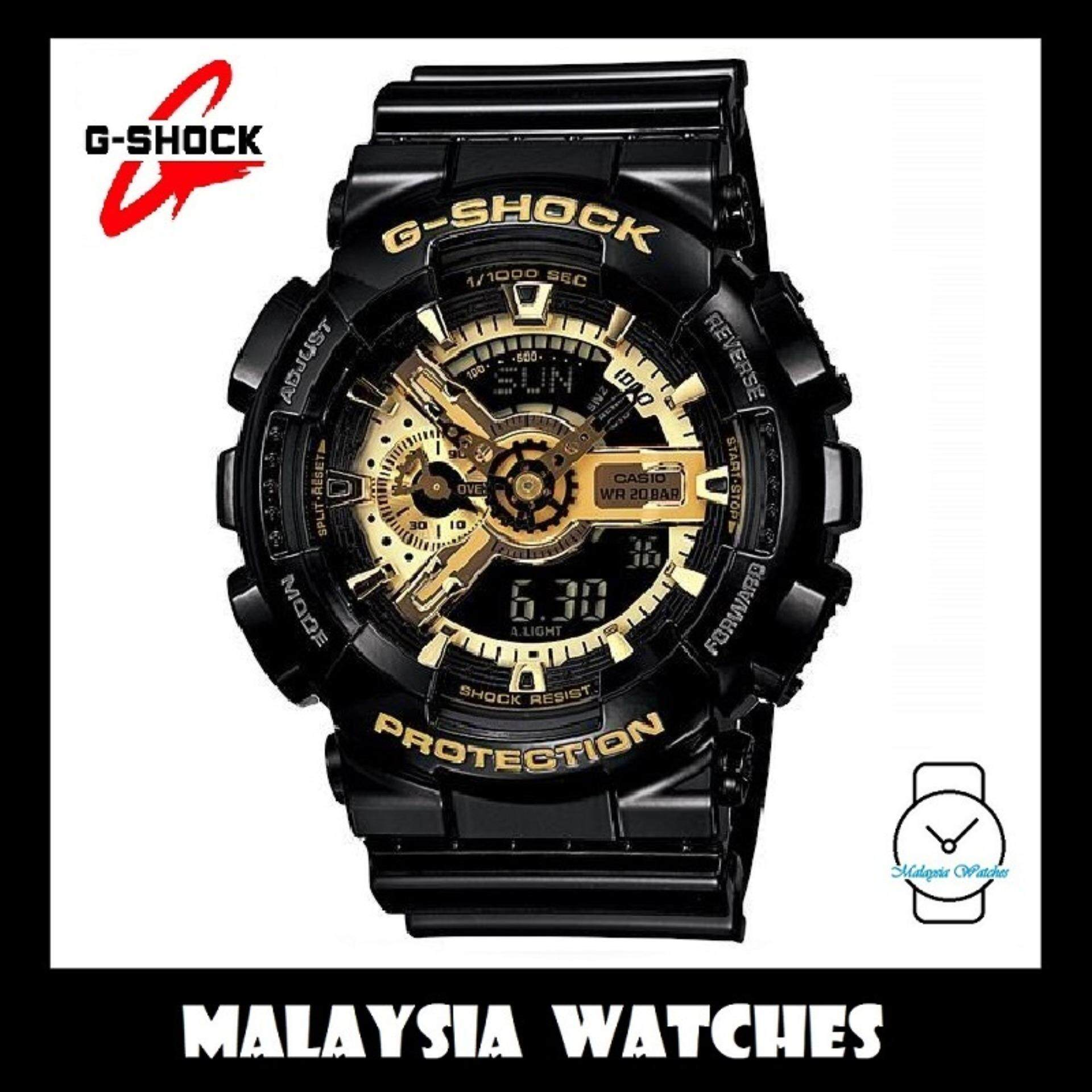 Official Malaysia Warranty Casio G Shock Limited Model Ga 110gb 1a