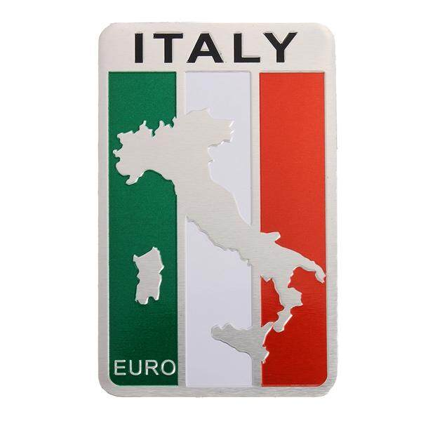 Car Truck Auto 3D Italian Italy Flag Emblem Sticker Metal Badge Decal Decor !