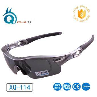 Outdoor Cycling Unisex Sport Sunglasses Polarized Running Sport Eyewear UV400 Lens Fishing Goggles with Four Lens