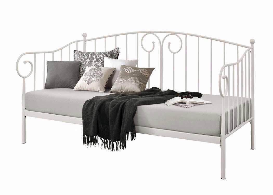 Butterfrench Powder Coated Day Bed - PF8355 (Texture Beige)