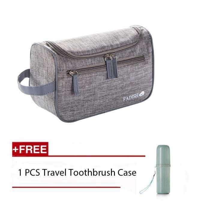 58waPortable Large Capacity Waterproof Man Nylon Travel Wash Bag Cosmetic Bag Men's Bath Make Up Bag Toiletry Organizer Case