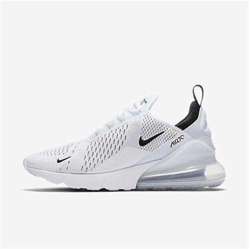 Nike_Official Air_Max_270 Low Top ( White Black ) WOMENS Running Shoe Fashion Training Shoes