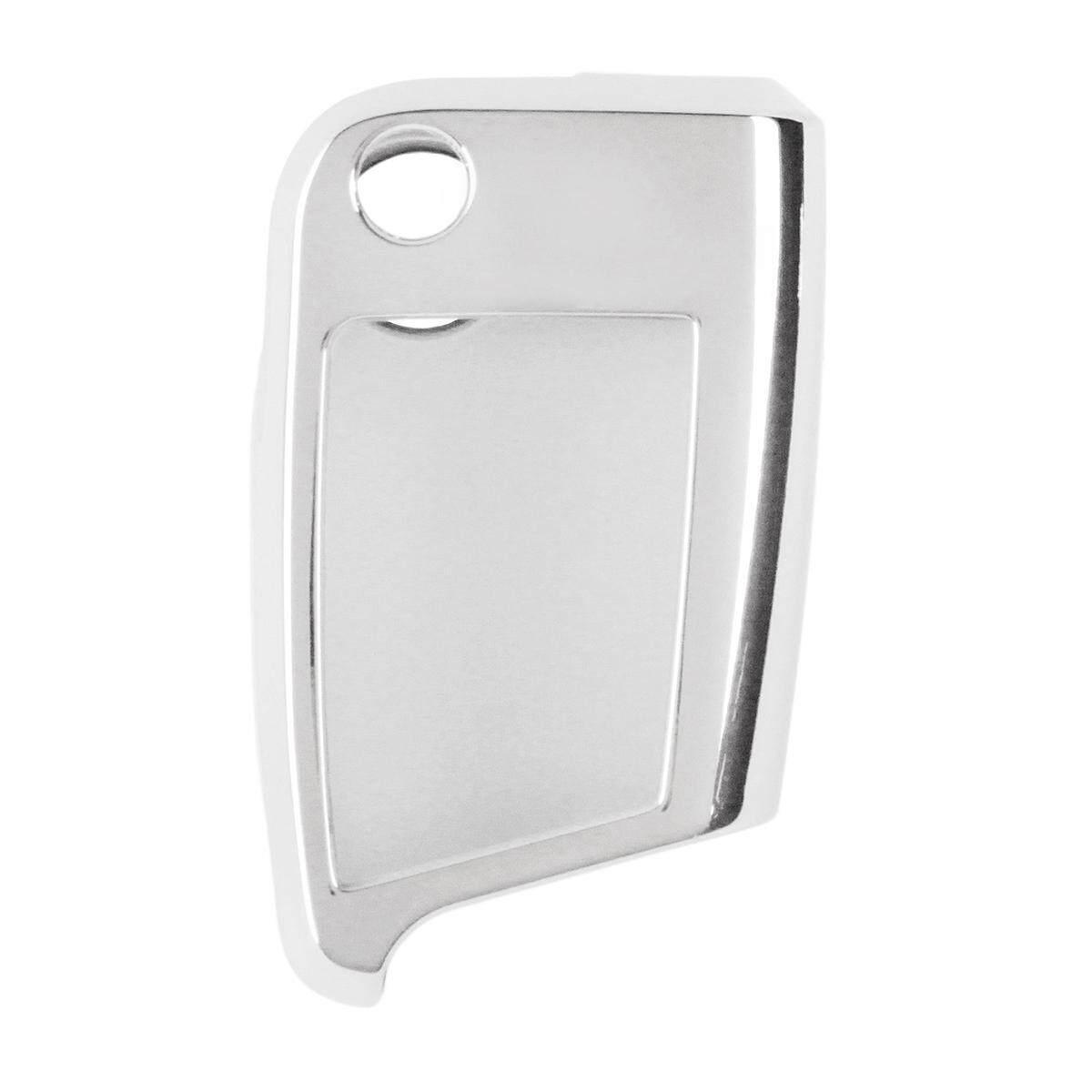 New TPU Remote Protect Key Cover Case Shell For VW TIGUAN Golf Skoda Octavia (Silver)