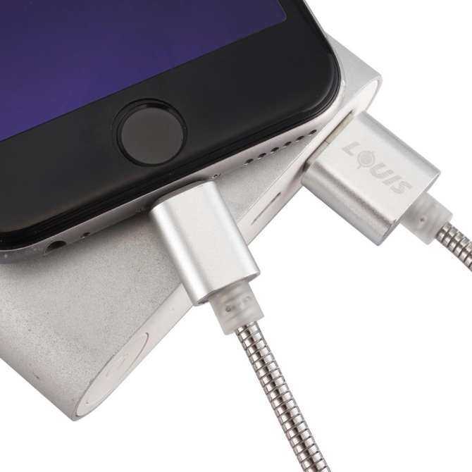 LOUIS 1m Stainless Steel + Aluminum Alloy 2.1A 8 Pin to USB 2.0 Sync Data / Charging Cable, For iPhone ...