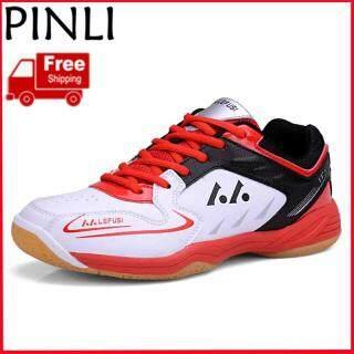 PINLI [Miễn Phí Vận Chuyển] Giày Cầu Lông Nữ Giày Thể Thao Chuyên Nghiệp Giày Tập Chống Trượt Nhẹ Giày Tennis Giày Thể Thao thumbnail