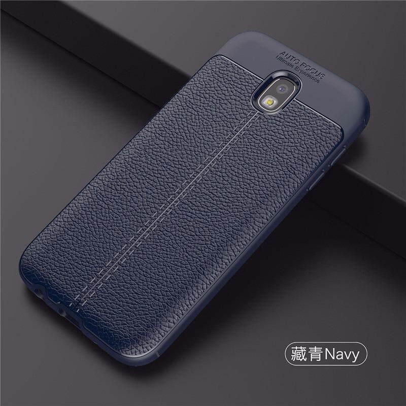 Samsung Galaxy J3 Pro Case Cover Casing Focus Fiber Black Blue Lazada