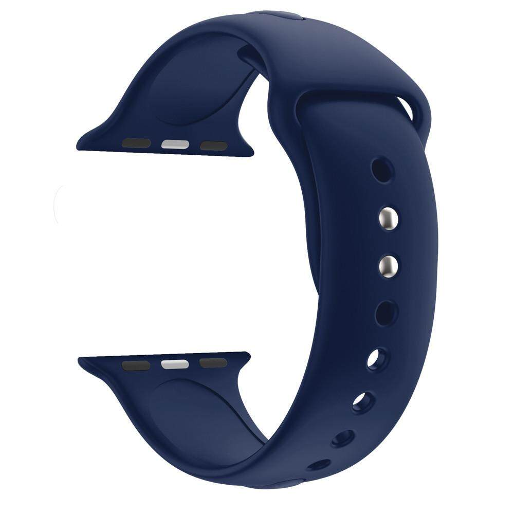 Penggantian Olahraga Lembut Jam Tangan Silikon Band Tali untuk Apple Watch Seri 4 40 Mm Tuckerstore