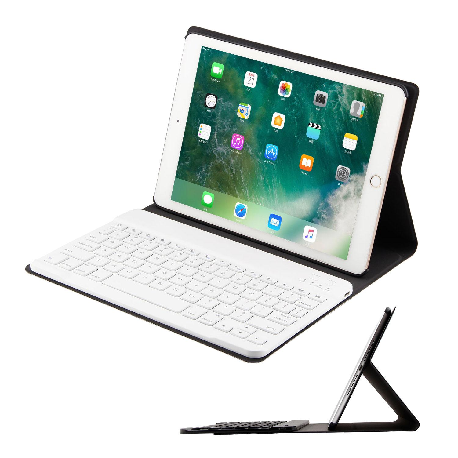leegoal 2 In 1 Bluetooth Keyboard Foldable Protective Case Stand For IPad Air/iPad Air2/ IPad Pro 9.7/ IPad 9.7 2017