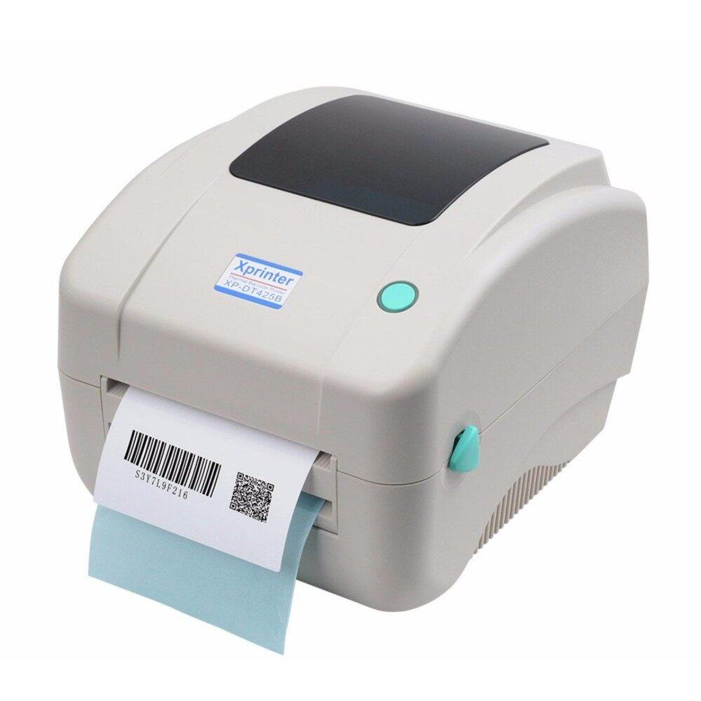 Barcode Printer XP-DT425B+Label Sticker 50x30mm 800pcs(1Roll)