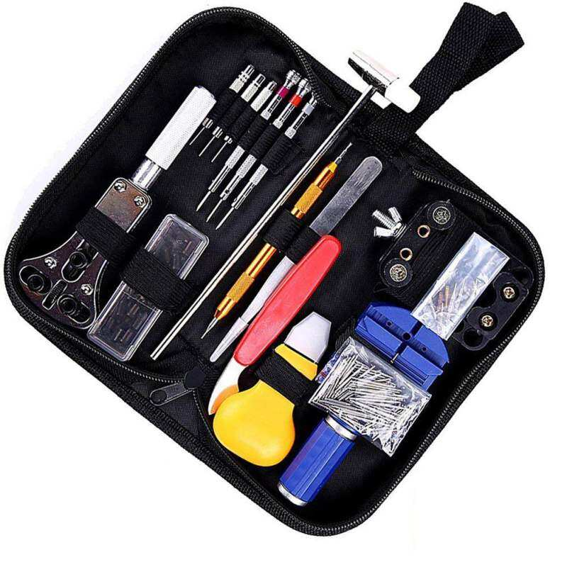 SmartSS 147 PCS Watch Tools Watch Repair Kit Spring Bar Back Case Opener Tool Set with Carrying Case Malaysia