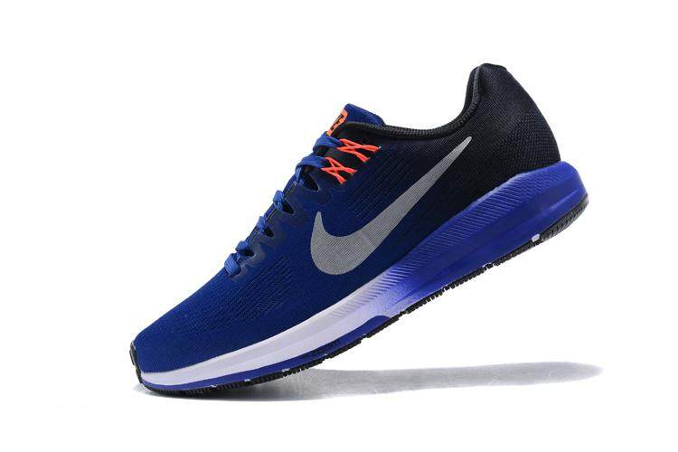 size 40 9afb8 cb92d Nike Air Zoom Structure 21 Men s Comfortable Running Shoe Lightweight  Fashion Sport Sneakers (Navy Blue