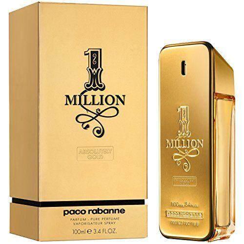 1 Million Absolutely Gold perfume for Men by Paco Rabanne 100ml eau de parfum
